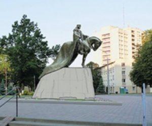 Памятник Гедимину